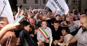 marco fioravanti sindaco festa